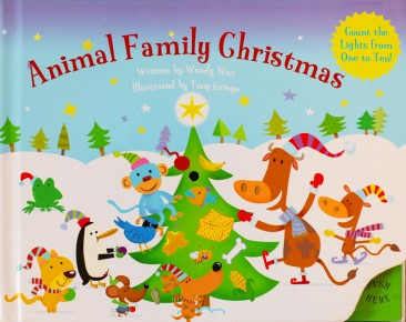 Animal Family Christmas